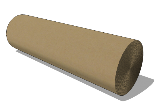 Roll of corrugated carboard 1500mm x 70rm