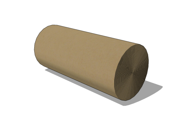 Roll of corrugated carboard 1000mm x 75lfm