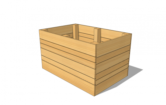 Raised bed 1200 x 800 x 850 [mm]