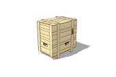 Wooden Crate 1200 x 800 x 1200